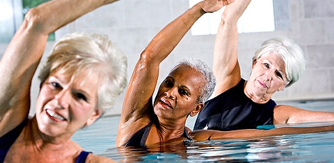 Group Fitness Aquatics at Healthy Living Okc